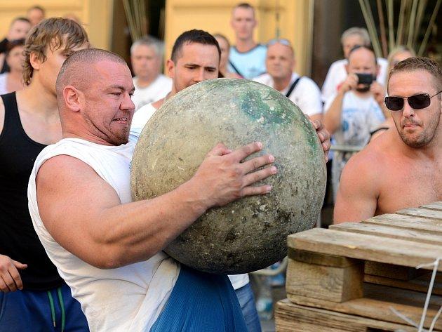 Mistrovství ČR strongman 2015 v Kutné Hoře.