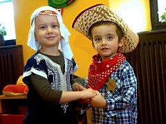 Karnevalové veselí i hostinu si užily v úterý děti v MŠ Dačický Kutná Hora.