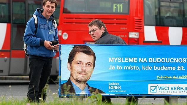 Předvolební kampaň 2010. 8.10.2010