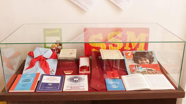 Z výstavy k 30. výročí sametové revoluce v Tylově domě v Kutné Hoře.