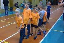 Zápolení kutnohorských atletických přípravek.