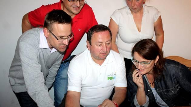 Volební štáb Město pro lidi.