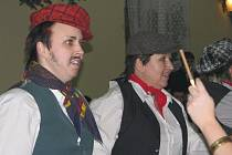 Myslivecký ples v Chotusicích 8. ledna 2010.