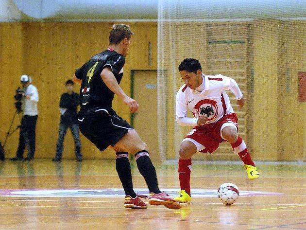 4. kolo Jettbul futsalové ligy: Benago - Slavia Praha, 25. září 2010.