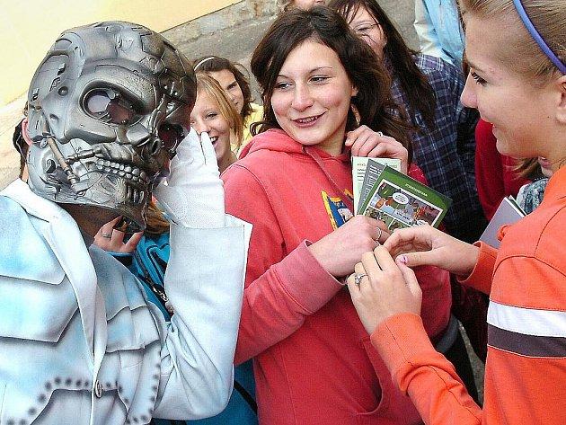 Projekt Svět recyklace na ZŠ T. G. Masaryka v Kutné Hoře
