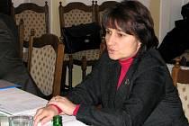 Výjezdní zasedání školského výboru poslanecké sněmovny v Kutné Hoře. Michaela Šojdrová.
