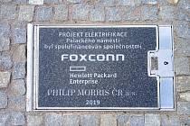 Elektrifikace Palackého náměstí v Kutné Hoře.