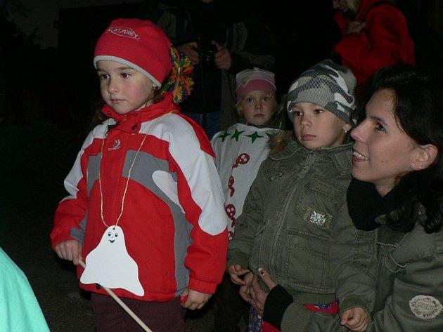 Slavnost světýlek v Mateřské škole Pohádka.