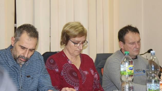 Zasedání zastupitelstva v Onomyšli.