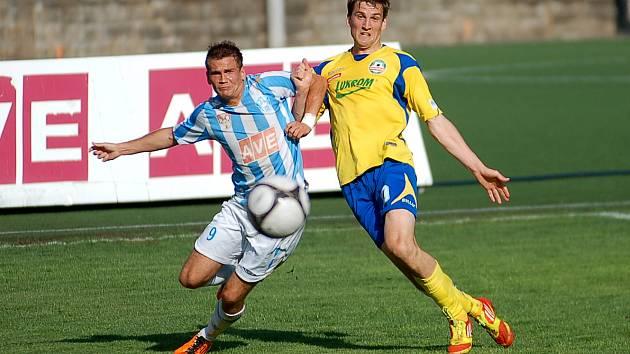 26. kolo II. ligy: Čáslav - Zlín 3:0, 6. května 2012.
