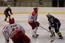 Hokej II. liga: K. Hora - Pelhřimov 3:2, neděle 11. října 2009