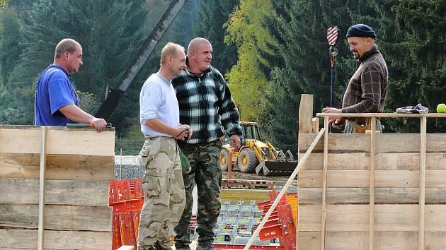 Rekonstrukce mostu ve Vlastějovicích