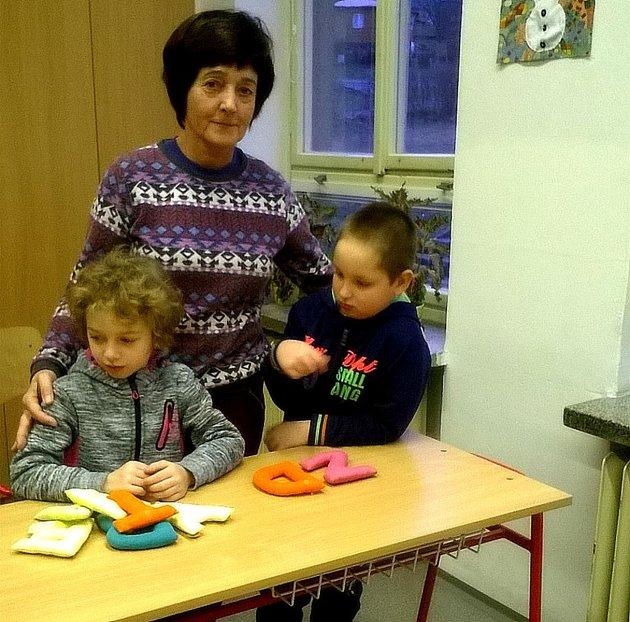 Základní škola Okružní Zruč nad Sázavou, I. třída sučitelkou Kristou Fremlovou