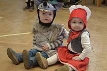 Dětský karneval v Čestíně.
