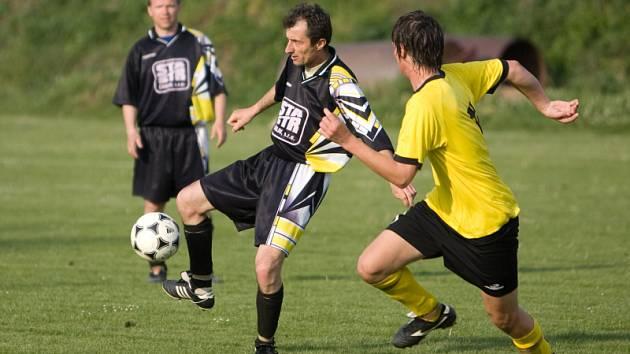 Z utkání III. třídy Horky - Miskovice 0:1, sobota 9. května 2009