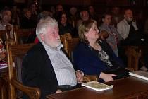 Z alchymistické konference v audienční síni Vlašského dvora v Kutné Hoře.
