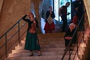 V kapli Božího těla první červnovou sobotu zahrálo PRELUDIUM houslistky Gabriely Vermelho a kapely GaRe.