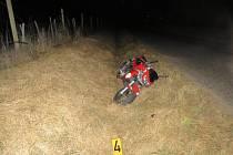 Nehoda motorkáře z 2. října