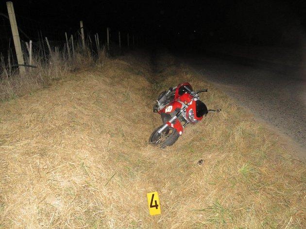 Nehoda motorkáře z2. října