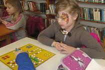 Dětské zábavné odpoledne si společně užily děti v neděli 12. března v místní knihovně v Chlístovicích u Malešova.
