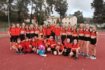 Mladší žáci a žákyně Kutné Hory na závodech v Čáslavi