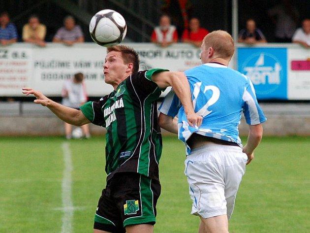 2. kolo II. ligy: Čáslav - Sokolov 0:2, 14. srpna 2011.