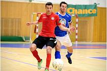 Chance futsal liga: Benago Zruč n. S. - SAT-AN Kladno 6:1.