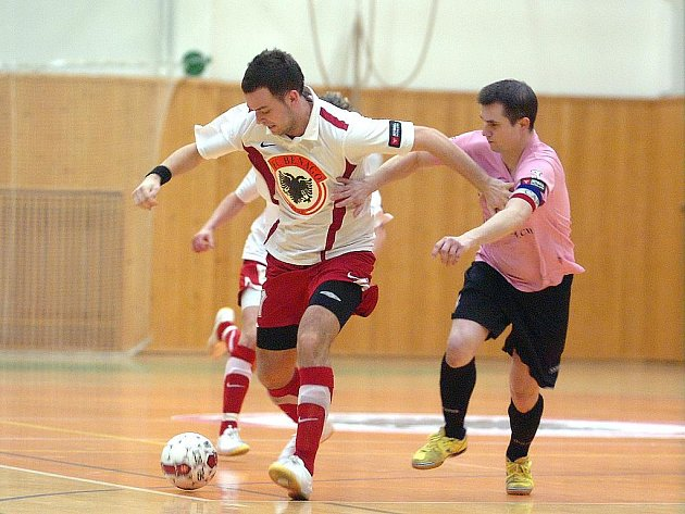Jetbull futsal liga: Benago Zruč - CC Jistebník, 8. ledna 2011.