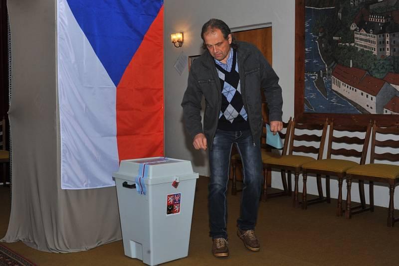 Parlamentní volby v Kácově.