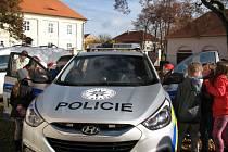 Beseda policistů na ZŠ Malešov