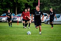 Fotbalista Milan Čálek přestoupil v létě do Malešova.