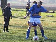 Fotbalová III. třída: TJ Sokol Horušice - TJ Sokol Červené Janovice 0:5 (0:2).