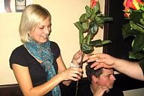 Z desátého karetního turnaje v Prší v kutnohorské restauraci a vinárně U France Josefa.