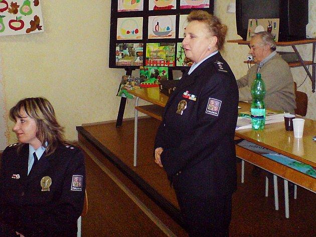 Z členské schůze kutnohorských diabetiků, kteří měli policejní návštěvu.