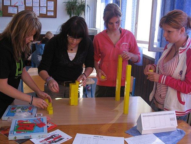 Projektové vyučování na Základní škole T. G. Masaryka v Kutné Hoře.