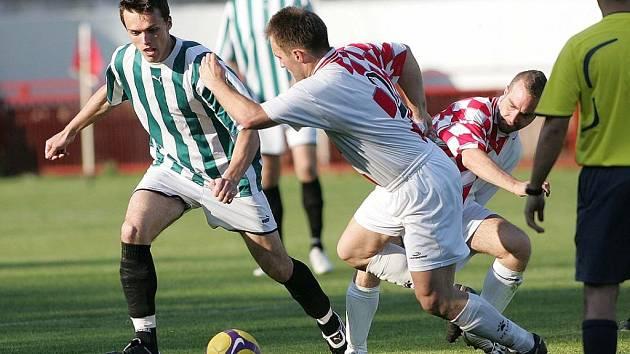Z utkání fotbalové I.A třídy Kutná Hora - Chocerady (10:0)
