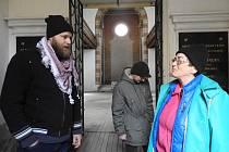 Anita Moravec Gard na návštěvě v Čáslavi.