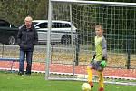 Česká fotbalová liga mladších žáků U12: FK Čáslav - FK Viktoria Žižkov 6:2.