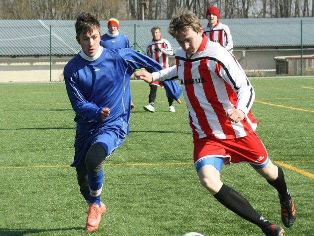 Přátelské utkání: Kutná Hora B - Kaňk 3:2, 23. března 2013.