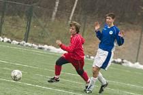 Fotbal: Ml. dorost K. Hora - Liberec B