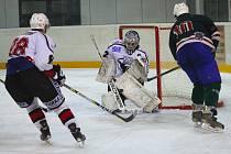 Čáslav na domácím ledě podlehla v přátelském zápase Žabonosům 1:5.