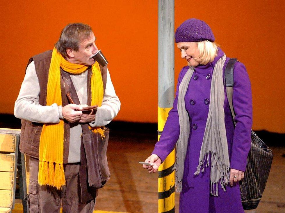 Jana Paulová aPavel Zedníček v Tylově divadle