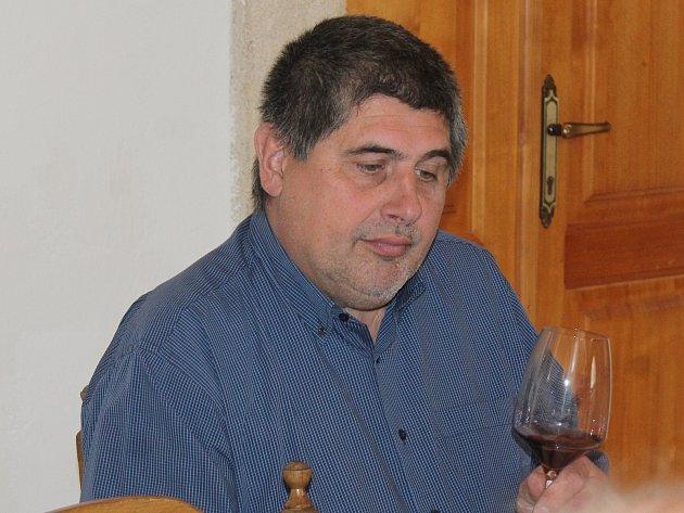 Sommelier Karel Tomášek.