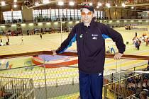 Karel Kopeček na halovém mistrovství světa veteránů v Clermont Ferrand