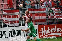 Pivovar Hubertus Kácov jako partner fotbalové Viktorie Žižkov.