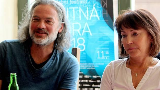 Jiří Bárta představil program hudebního festivalu.