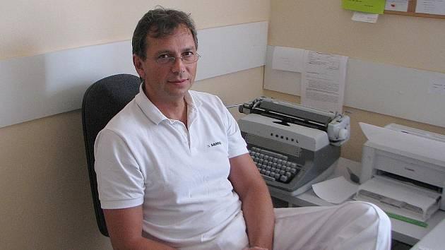 Ortoped Petr Jurka.