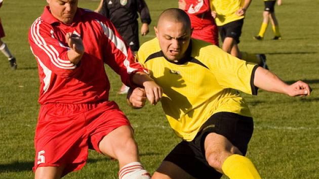 Fotbal III. třída: Miskovice - Vrdy B, sobota 15. listopadu 2008