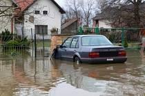 Povodeň ve Vrdech 2002.