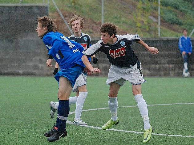 Fotbal divize dorostu: st. dorost Čáslav - Pardubice B 0:1, sobota 24. října 2009